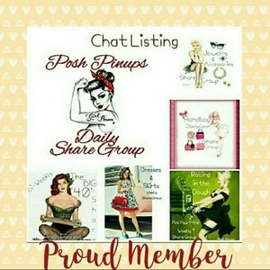 Other - @poshpinups share groups